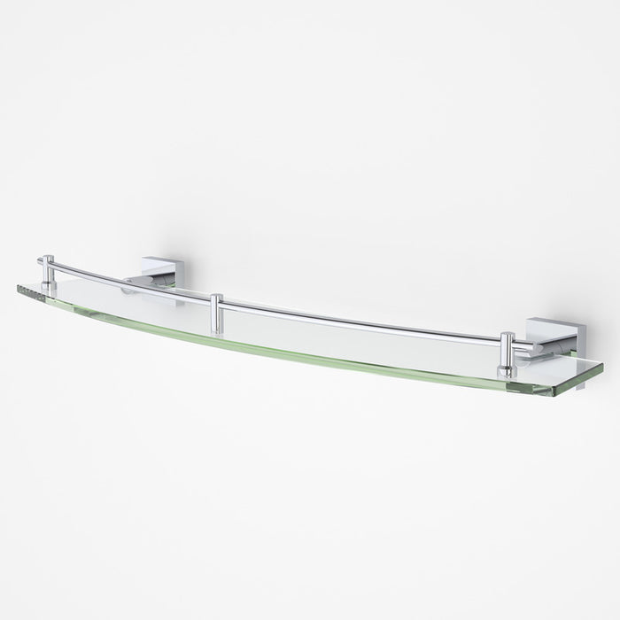 Dorf Enix Glass Shelf - chrome - the blue space