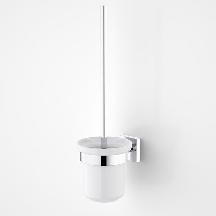 Dorf Enix Toilet Brush Holder - chrome - the blue space