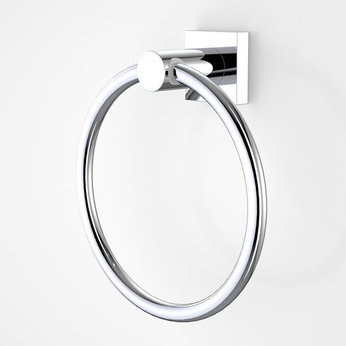 Dorf Enix Towel Ring chrome - the blue space