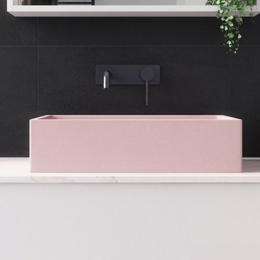 Rifco Horizon Concrete Above Counter Basin - Pink