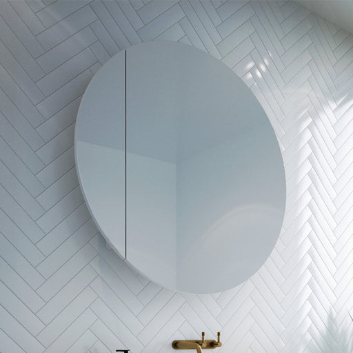 Rifco Cirque Mirror Cabinet 600mm - 900mm - Online at The Blue Space - As seen on The Block