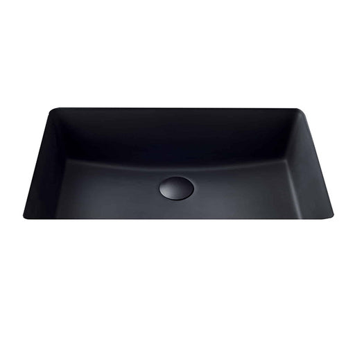 Seima Plati Rectangular Under Counter Basin - Black