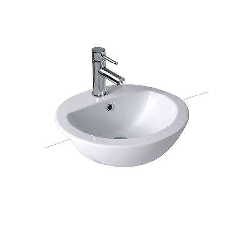 Seima Chios Classic Oval Bowl Semi-Recessed Basin