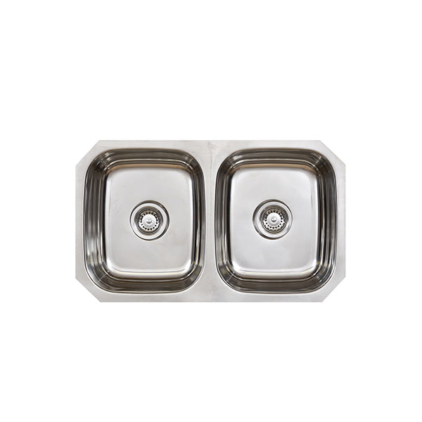 Seima Acero Double Bowl Undermount Kitchen Sink