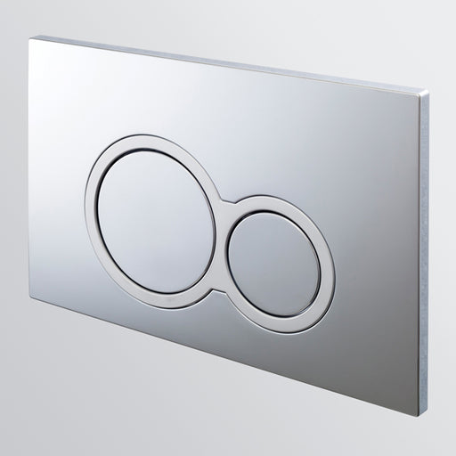 Seima InWall 100 Series Flush Button Plate in Chrome
