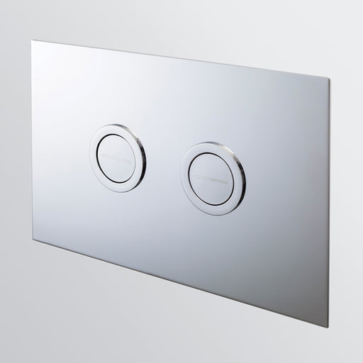 Seima InWall 200 Series Flush Button Plate in Chrome