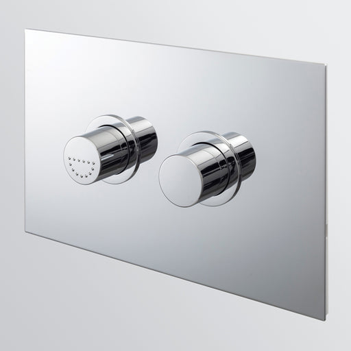 Seima InWall 300 Series Care Flush Button Plate