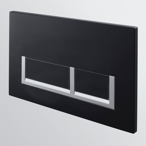 Seima InWall 400 Series Flush Button Plate - Black