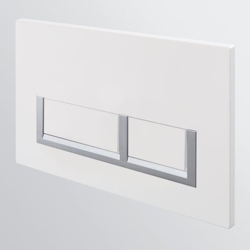 Seima InWall 400 Series Flush Button Plate - White