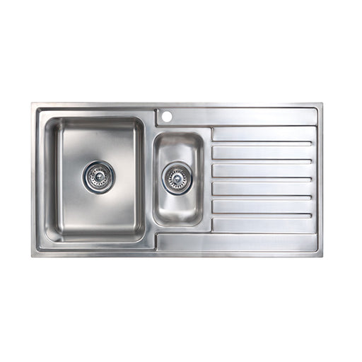 Seima Kubic 1.5 Double Bowl Kitchen Sink