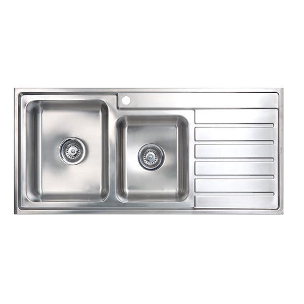 Seima Kubic 1.75 Double Bowl Kitchen Sink