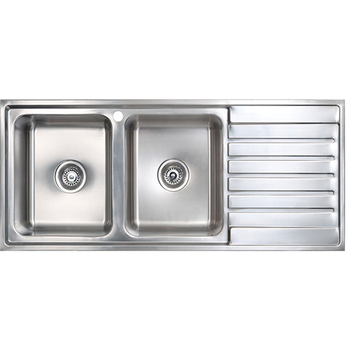 Seima Kubic Double Bowl Kitchen Sink
