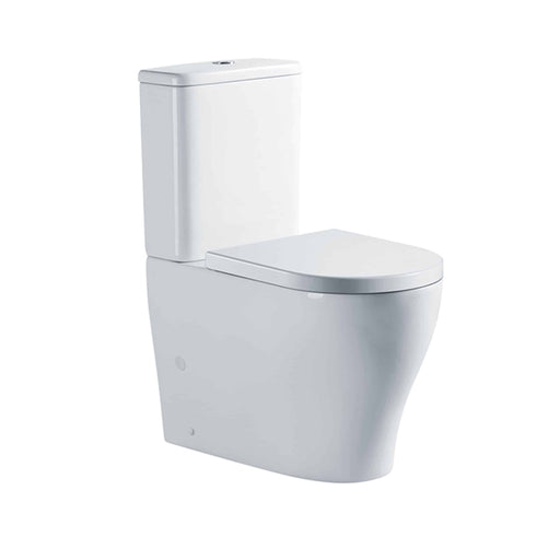 Seima Limni Clean Flush Wall Faced Toilet Suite with Classic Seat online at the Blue Space