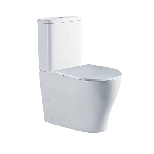 Seima Limni Clean Flush Wall Faced Toilet Suite with Slim Seat online at The Blue Space