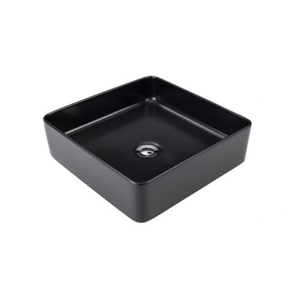 Seima Kyra Slimline Square Above Counter Basin-Black