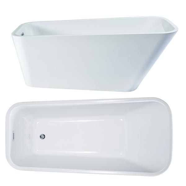 Seima Plati Freestanding Bath Birds Eye View