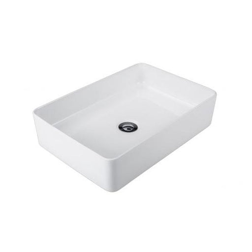 Seima Plati Slimline Rectangular Above Counter Basin-White