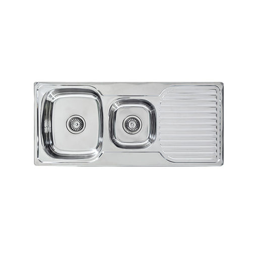 Seima Acero Classic 1.75 Double Bowl Kitchen Sink
