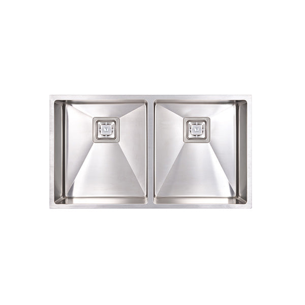 Seima Tetra Pro Double Bowl Inset/Overmount Kitchen Sink