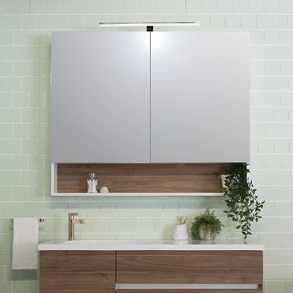 ADP Shelf Shaving Cabinet 600mm - 1200mm by ADP - The Blue Space