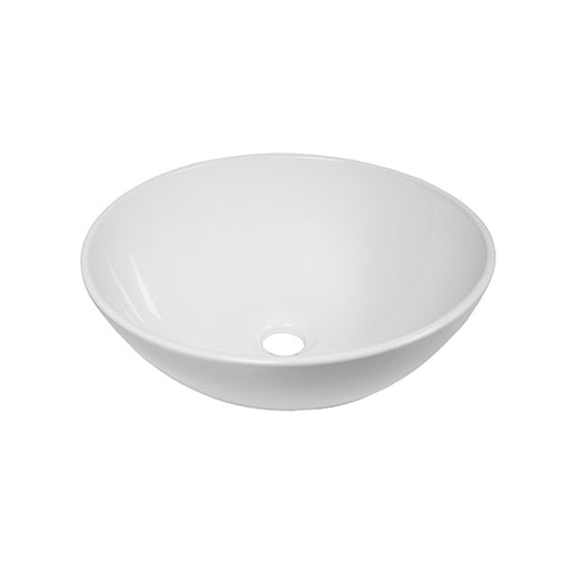 ADP Solar Above Counter Basin - Gloss White by ADP - The Blue Space
