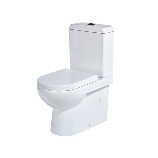 Seima Limni II Wall Faced Toilet Suite - Standard Seat