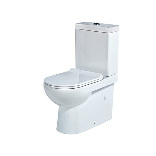 Seima Maxim II Wall Faced Toilet Suite - Flat Seat