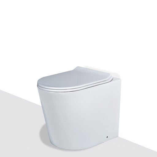 Seima Gyali Rimless Wall Faced InWall Toilet Suite