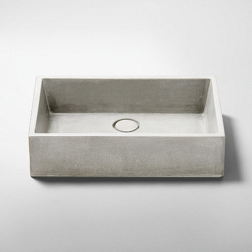 Studio Bagno Quarry NeuCrete Concrete Basin - Original online at the Blue space
