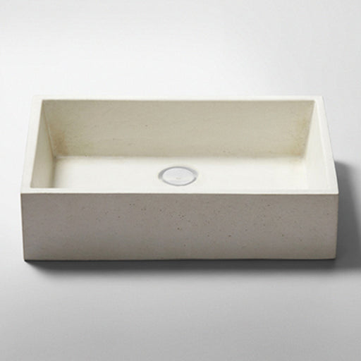 Studio Bagno Quarry NeuCrete Concrete Basin - Pumice White