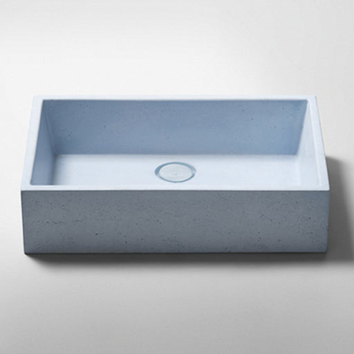 Studio Bagno Quarry NeuCrete Concrete Basin - Powder Blue