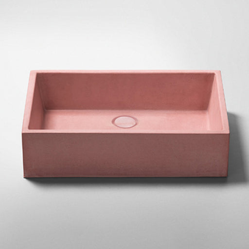Studio Bagno Quarry NeuCrete Concrete Basin - Rose Quartz Pink online at the blue space