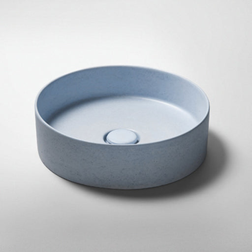 Studio Bagno Silo NeuCrete Concrete Basin - Powder Blue online at the Blue Space