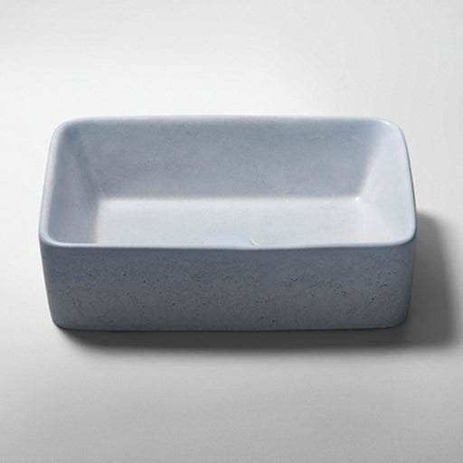 Studio Bagno Tundra NeuCrete Concrete Basin - Powder Blue online at The Blue Space