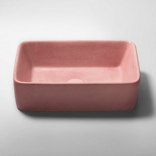 Studio Bagno Tundra NeuCrete Concrete Basin - Rose Quartz Pink online at The Blue Space