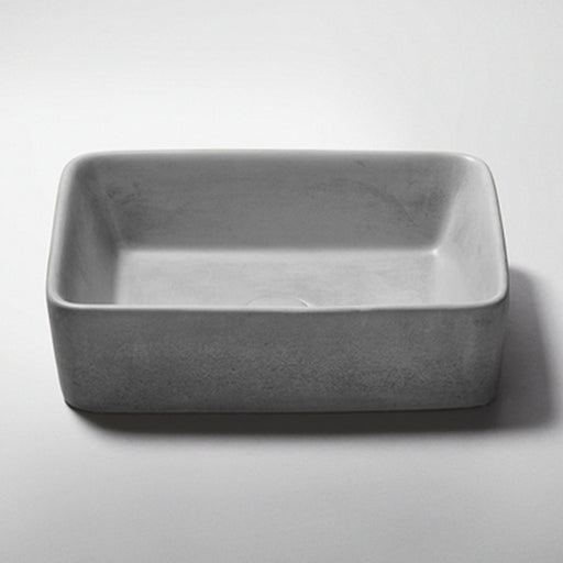 Studio Bagno Tundra NeuCrete Concrete Basin - Storm Grey online at The Blue Space