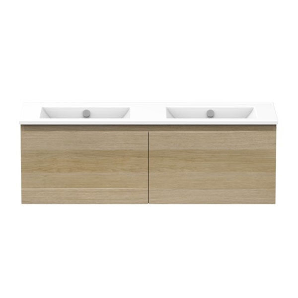 ADP Glacier Ceramic All-Drawer Double Slim Vanity 1200mm - The Blue Space