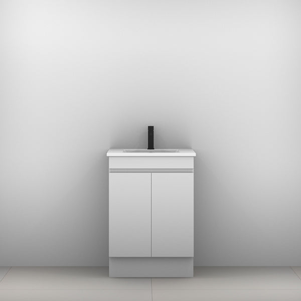 ADP Palm Vanity with Kickboard 600mm - The Blue Space