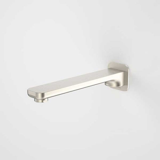 Caroma Luna Basin/Bath Outlet Brushed Nickel 185mm at The Blue Space