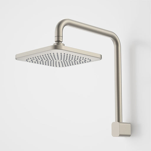 Caroma Luna Fixed Overhead Shower Brushed Nickel - The Blue Space