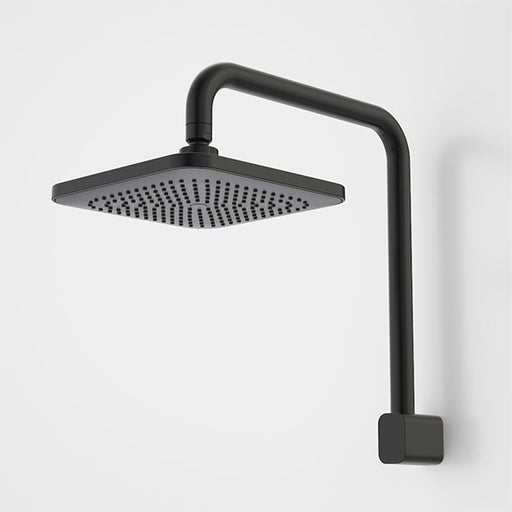 Caroma Luna Fixed Overhead Shower Satin Black - The Blue Space