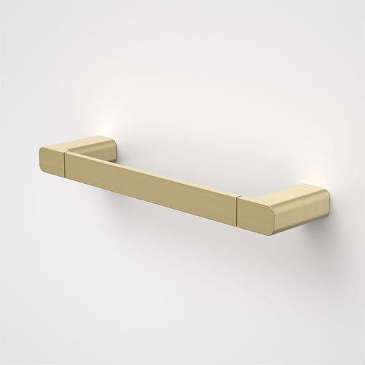 Caroma Luna Hand Towel Rail Brushed Brass - The Blue Space