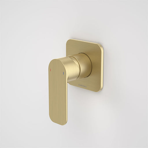 Caroma Luna Bath/Shower Mixer Brushed Brass at The Blue Space