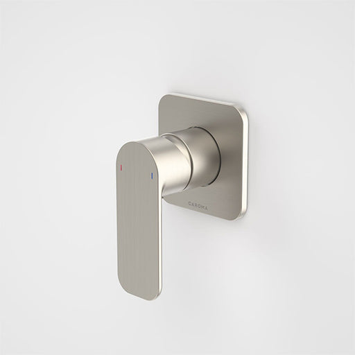 Caroma Luna Bath/Shower Mixer Brushed Nickel at The Blue Space