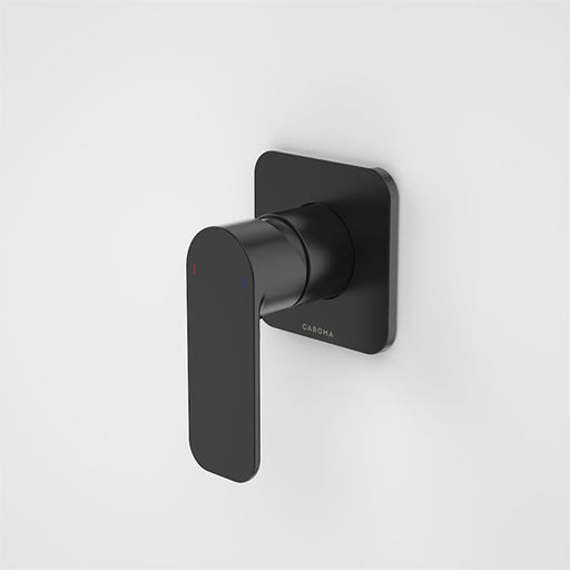 Caroma Luna Bath/Shower Mixer Satin Black at The Blue Space