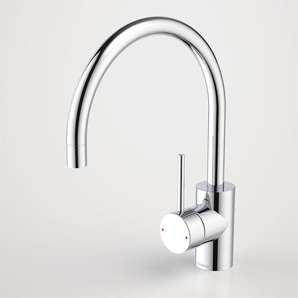 Caroma Pin Lever Sink Mixer Gooseneck - The Blue Space