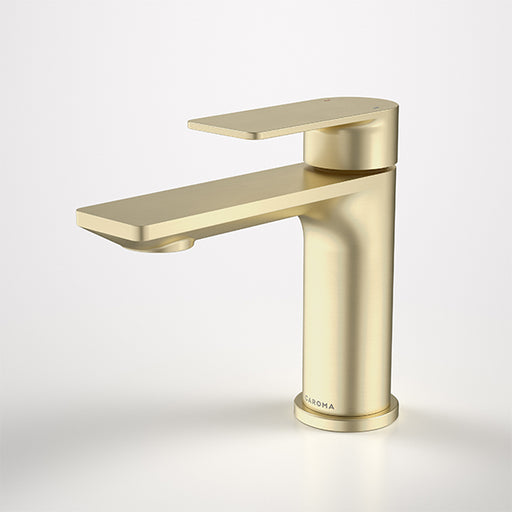 Caroma Urbane II Basin Mixer Brushed Brass - The Blue Space