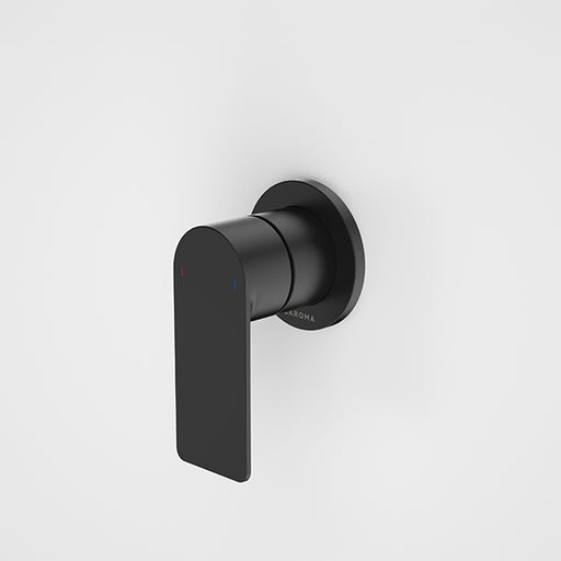 Caroma Urbane II Bath/Shower Mixer Round Plate Matte Black - The Blue Space