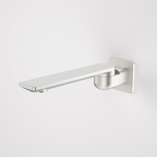 Caroma Urbane II 220mm Square Bath Swivel Outlet Brushed Nickel - The Blue Space