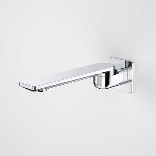 Caroma Urbane II 220mm Square Bath Swivel Outlet Chrome View One - The Blue Space